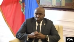 Leon Charles, Direktè Jeneral Polis Nasyonal d Ayiti (PNH).