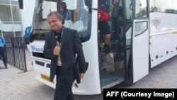 پیتر شگرت، مربی تیم ملی فوتبال افغانستان