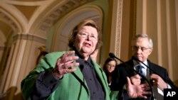 Demokratska senatorka Barbara Mikulski i Lider većine u Senatu, Heri Rid (arhiva)