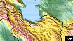 Vị trí của trận động đất ở miền nam Iran, ngày 31 tháng 7, 2010