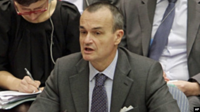 France's UN Ambassador Gérard Araud  (file photo)