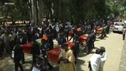 Imihango yo Gushingura Abanyetiyopiya 17 Bahitanywe na Ethiopian Airline