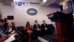 Manchetes Americanas: Sean Spicer demite-se do cargo Secretário de Imprensa da Casa Branca