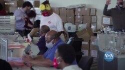 Після перерахунку вручну майже 5 мільйонів бюлетенів, штат Джорджія підтвердив перемогу Байдена. Відео
