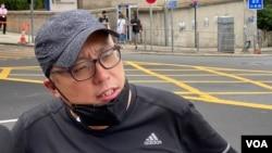 資料照:香港民主派活動人士譚得志,據稱,他犯了煽動動議參加非法立法會的等罪名。