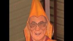 流亡藏人為達賴喇嘛祝壽