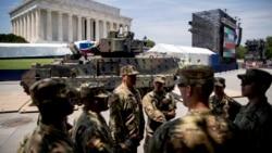 Pripreme za proslavu Dana nezavisnosti u Vašingtonu
