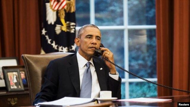 Obama convers� por tel�fono con el rey Salm�n de Arabia Saudita.