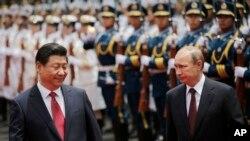 Ruski predsednik Vladimir Putin i kineski predsednik Ši Điping, 20. maj, 2014.