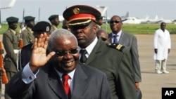 Presidente de Moçambique Armando Guebuza