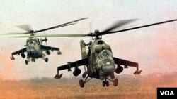 Syrian-Helecopters