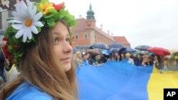Українці у Польщі відзначають у Варшаві роковини Незалежності України