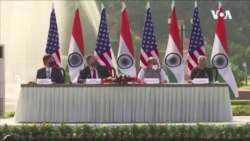 美印簽署防禦合作協定 聯合抗中邁出新的一步