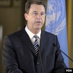 Jaksa penuntut utama Mahkamah Kejahatan Perang PBB, Serge Brammertz.