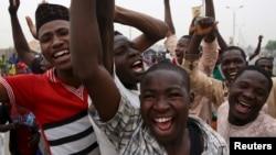 Pristalice Muhamadu Buhari slave njegovu pobedu na izborima