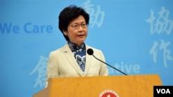 Ông Tập sẽ chủ trì buổi lễ nhậm chức của tân trưởng đặc khu hành chính Carrie Lam.