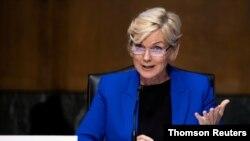 ARCHIVO - La exgobernadora de Michigan y secretaria de Energía de la administración Biden, testifica ante el Comité de Energía y Recursos Naturales del Senado.