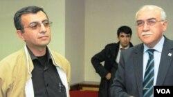 Yadigar Sadıqov və Müsavat Partiyasının başqanı İsa Qəmbər