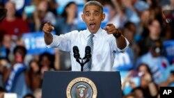 Para Obama está será la primera de dos visitas programadas en ese estado esta semana, tratando de utilizar su alta popularidad.