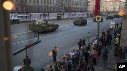 عکس آرشیوی از مراسم روز پیروزی در میدان سرخ مسکو