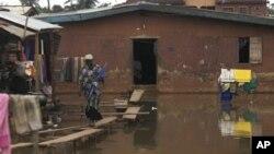 지난해 홍수피해를 입은 나이지리아의 이코로두.