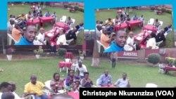 "Une réunion des jeunes de l'association ""Ki Mur"" à Mukaza, Bujumbura, 16 octobre 2017. (VOA/Christophe Nkurunziza)"
