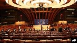 Зал заседаний Совета Европы в Страсбурге, Франция (архивное фото)