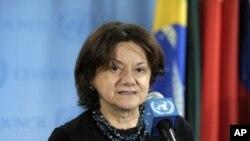 """̂'' Nous espérons que ce débat contribuera à maintenir le regard de la communauté internationale sur la région des Grands Lacs """" a dit Rosemary DiCarlo"""
