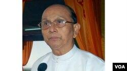Thein Sein dilantik sebagai presiden beserta sebuah pemerintah baru yang terpilih setelah pemilu November 2010.