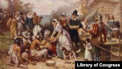 美洲原住民第一個感恩節中 起著舉足輕重作用