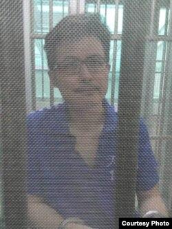 郭飞雄在关押中近照(成生提供网路照片)