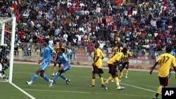 Final game between Eritrean and Uganda