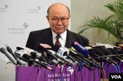 香港特优候选人胡国兴(VOA汤惠芸摄)