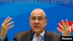 Sekjen OECD Angel Gurria memperingatkan konsekuensi pajak terhadap Inggris (foto: dok).