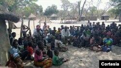 Na zona rural do município dos Bundas, Moxico, adultos e crianças passam fome
