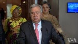 联合国秘书长:若不采取行动,气候变化将带来灾难性影响