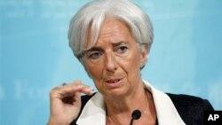 Izvršna direktorka Međunarodnog monetarnog fonda Kristin Lagard