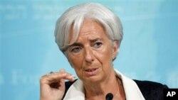 La jefa del FMI participó en un foro económico en Japón.