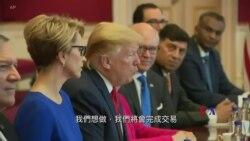 2019-06-04 美國之音視頻新聞: 特朗普與特蕾莎梅週二會談期望擴大美英雙邊貿易