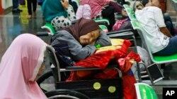 Pasien Rumah Sakit Kanker Dharmais di Jakarta harus menunggu, karena serangan malware telah mengganggu sistem pendaftaran dan pencarian data-data pasien, Senin (15/5).