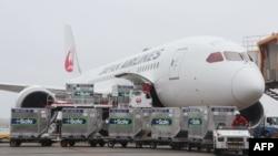 ឥវ៉ាន់ត្រូវគេលើកដាក់ចូលយន្តហោះរបស់ក្រុមហ៊ុនអាកាសចរណ៍ជប៉ុន Japan Airlines ដែលចតនៅអាកាសយានដ្ឋាន Narita ប្រទេសជប៉ុនកាលពីថ្ងៃទី៤ ខែមិថុនា ឆ្នាំ២០២១ ហើយដែលត្រូវដឹកវ៉ាក់សាំង AstraZeneca ជាអំណោយរបស់រដ្ឋាភិបាលជប៉ុនទៅឱ្យកោះតៃវ៉ាន់។