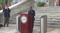 EE.UU. pide acceso a estadounidenses detenidos en Venezuela