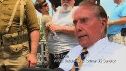Former Senator Bob Dole, WWII Vet, on VE Day Anniversary