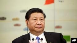 Chủ tịch Trung Quốc Tập Cận Bình tham dự một cuộc họp tại Bắc Kinh, ngày 3/11/2015. Ông Tập cho biết Trung Quốc cần tăng trưởng kinh tế ít nhất là 6,5% trong năm tới.