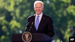 Президент США Джо Байден. Женева, Швейцария. 16 июня 2021 г.