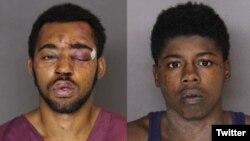 جوزف مک اینیس و تایری مک کوی، دو جوانی که در باری در بالتیمور دست به سرقت مسلحانه زدند.