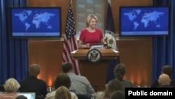 Juru bicara Departemen Luar Negeri AS, Heather Nauert (Foto: dok).