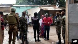 Segurança foi reforçada nas assembleias de voto