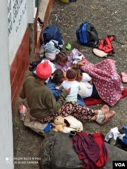 Miles de migrantes viven en condiciones infrahumanas su retorno a Colombia. Foto cortesía Red Humanitaria