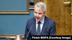 د فنلند د بهرنیو چارو وزیر پیکا هاویستو